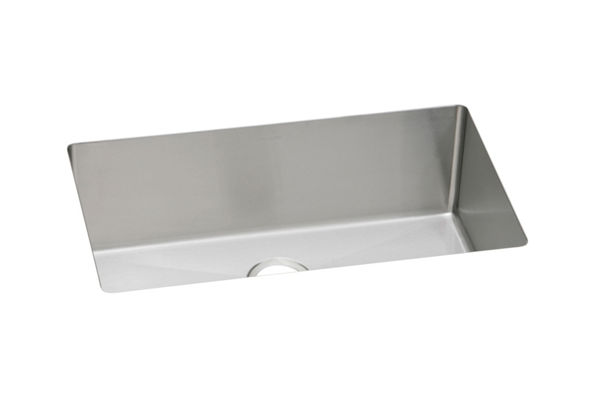 "Elkay Pursuit Stainless Steel 30-1/2"" x 18-1/2"" x 10"", Single Bowl Undermount Laundry Sink"