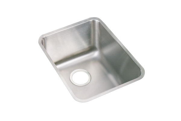 "Elkay Pursuit Stainless Steel 16-1/2"" x 20-1/2"" x 9-7/8"", Single Bowl Undermount Laundry Sink"