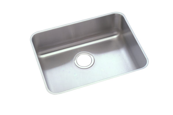 "Elkay Pursuit Stainless Steel 23-1/2"" x 18-1/4"" x 10"", Single Bowl Undermount Laundry Sink"