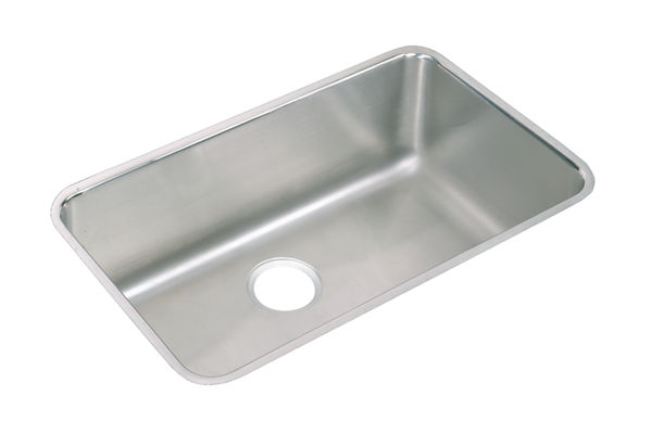 "Elkay Pursuit Stainless Steel 30-1/2"" x 18-1/2"" x 11-1/2"", Single Bowl Undermount Laundry Sink"