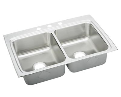 Image for Pursuit Stainless Steel Double Bowl Top Mount Sink from elkay-consumer