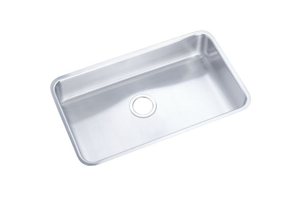 "Elkay Pursuit Stainless Steel 30-1/2"" x 18-1/2"" x 7-1/2"", Single Bowl Undermount Outdoor Sink"