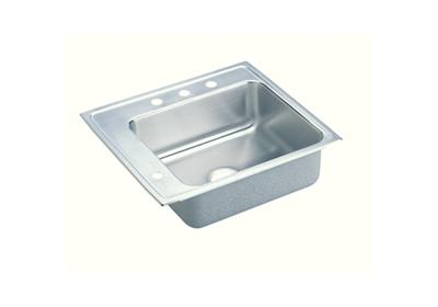 "Image for Elkay Pacemaker Stainless Steel 22"" x 19-1/2"" x 7-1/8"", Single Bowl Top Mount Classroom Sink from ELKAY"