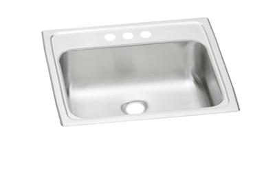 "Image for Elkay Pacemaker Stainless Steel 19"" x 17"" x 6-1/8"", Single Bowl Top Mount Bathroom Sink from ELKAY"