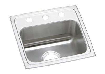 "Image for Elkay Celebrity Stainless Steel 17"" x 16"" x 7-1/8"", Single Bowl Top Mount Sink from ELKAY"