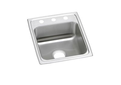 "Image for Elkay Celebrity Stainless Steel 17"" x 20"" x 7-1/8"", Single Bowl Top Mount Sink from ELKAY"