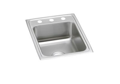 "Image for Elkay Pacemaker Stainless Steel 17"" x 22"" x 7-1/8"", Single Bowl Top Mount Sink from ELKAY"
