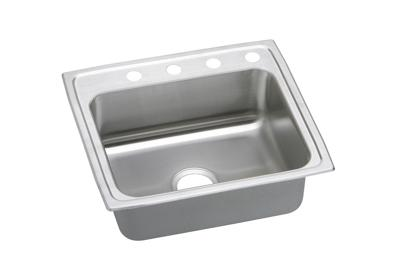 "Image for Elkay Pacemaker Stainless Steel 22"" x 19-1/2"" x 7-1/8"", Single Bowl Top Mount Sink from ELKAY"