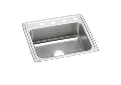 "Image for Elkay Pacemaker Stainless Steel 25"" x 21-1/4"" x 7-1/2"", Single Bowl Top Mount Sink from ELKAY"