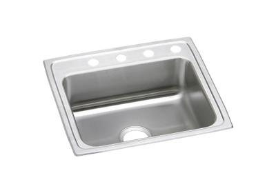 "Image for Elkay Pacemaker Stainless Steel 25"" x 22"" x 7-1/2"", Single Bowl Top Mount Sink from ELKAY"