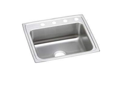 "Image for Elkay Celebrity Stainless Steel 25"" x 22"" x 7-1/2"", Single Bowl Top Mount Sink from ELKAY"