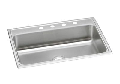 "Image for Elkay Pacemaker Stainless Steel 31"" x 22"" x 7-1/8"", Single Bowl Top Mount Sink from ELKAY"