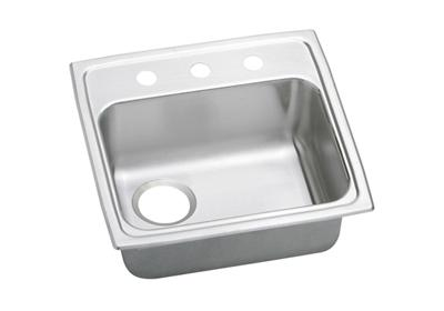 "Image for Elkay Pacemaker Stainless Steel 19-1/2"" x 19"" x 5"", Single Bowl Top Mount ADA Sink from ELKAY"