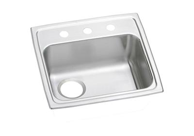 "Image for Elkay Pacemaker Stainless Steel 19-1/2"" x 19"" x 5-1/2"", Single Bowl Top Mount ADA Sink from ELKAY"