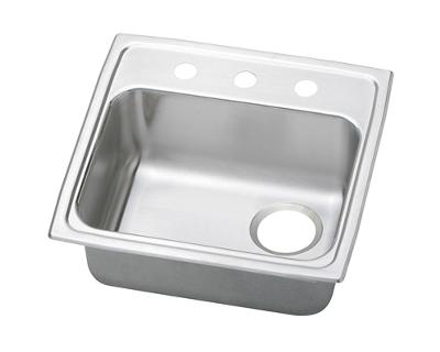 Image For Gourmet Pacemaker Stainless Steel Single Bowl