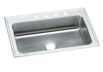 "Image for Elkay Celebrity Stainless Steel 33"" x 22"" x 7-1/4"", Single Bowl Top Mount Sink from ELKAY"