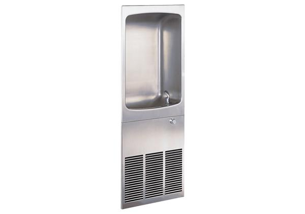 Image for Halsey Taylor Wall Mount Full Recessed Cooler, Non-Filtered 8 GPH Stainless from Halsey Taylor