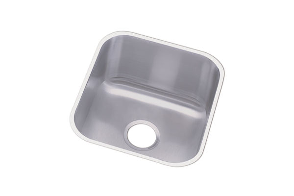 "Dayton Stainless Steel 16-1/2"" x 18-1/4"" x 8"", Single Bowl Undermount Sink"
