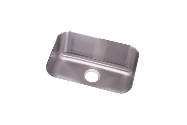 "Dayton Stainless Steel 23-1/2"" x 18-1/4"" x 8"", Single Bowl Undermount Sink"