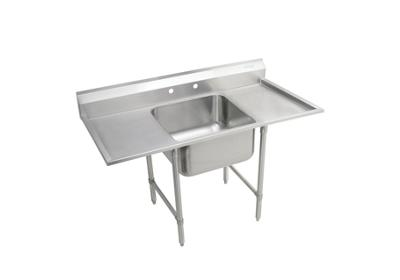 "Image for Elkay Rigidbilt Stainless Steel 27"" x 29-3/4"" x 12-3/4"" Floor Mount, Single Compartment Scullery Sink w/ Drainboard from ELKAY"