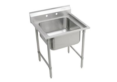 "Image for Elkay Rigidbilt Stainless Steel 33"" x 29-3/4"" x 12-3/4"", Floor Mount, Single Compartment Scullery Sink from ELKAY"