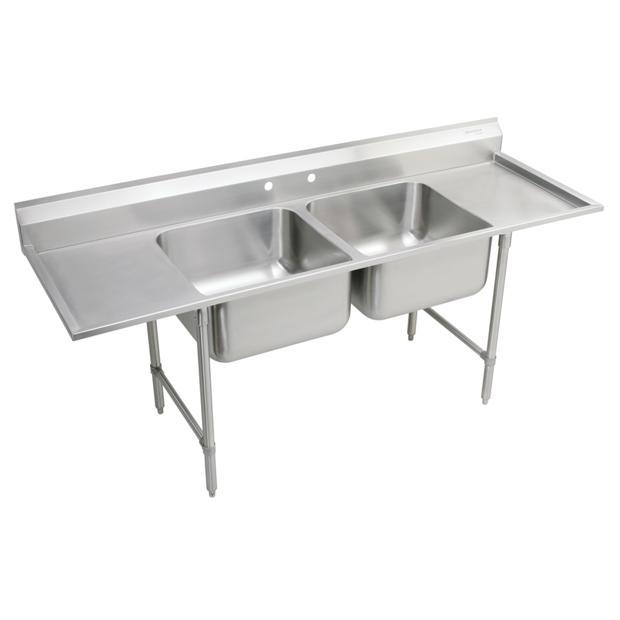 ELKAY   Floor Sink, Scullery, Stainless Steel Commercial Sinks