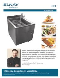 Elkay Foodservice Rethermalizer Sell Sheet