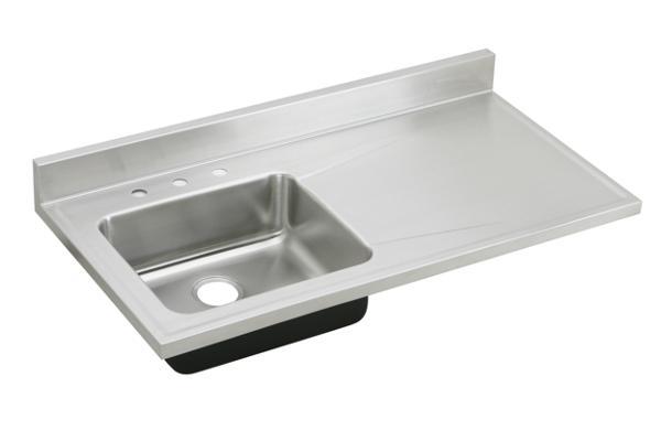 Elkay Lustertone Classic Stainless Steel 48  x 25  x 7-1/2  sc 1 st  Elkay & ELKAY | Custom Sinks and Stainless Steel Countertops