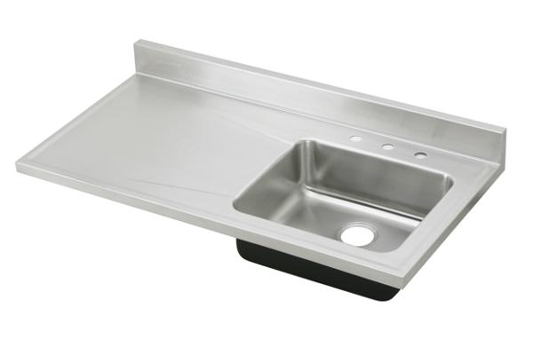 Awesome Elkay Lustertone Classic Stainless Steel 48u0026#34; X 25u0026#34; X 7 1/2u0026#34;,  Single Bowl Sink Top | ELKAY