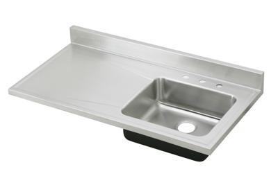 "Image for Elkay Lustertone Stainless Steel 48"" x 25"" x 7-1/2"", Single Bowl Sink Top from ELKAY"