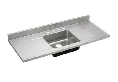 "Image for Elkay Lustertone Classic Stainless Steel 60"" x 25"" x 7-1/2"", Single Bowl Sink Top from ELKAY"