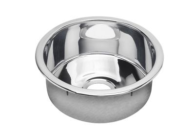 "Image for Elkay Stainless Steel 16-3/8"" x 16-3/8"" x 7"", Single Bowl Dual Mount Bar Sink, Mirror from ELKAY"