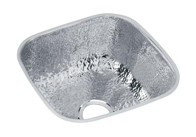 "Image for Elkay Stainless Steel 14-1/8"" x 14-1/8"" x 6-1/2"", Single Bowl Undermount Bar Sink from ELKAY"