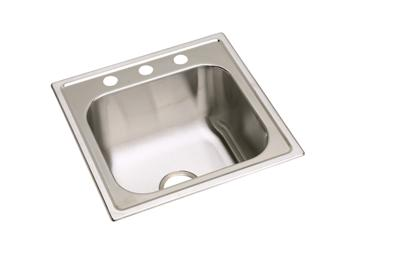 "Image for Elkay Stainless Steel 20"" x 20"" x 10-1/8"", Single Bowl Top Mount Sink from ELKAY"