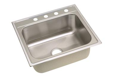 "Image for Elkay Stainless Steel 25"" x 22"" x 10-1/4"", Single Bowl Top Mount Sink from ELKAY"