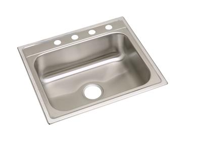 "Image for Elkay Stainless Steel 25"" x 22"" x 8-1/4"", Single Bowl Top Mount Sink from ELKAY"