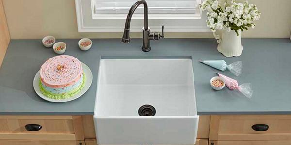 Fireclay kitchen sinks elkay kitchen workwithnaturefo