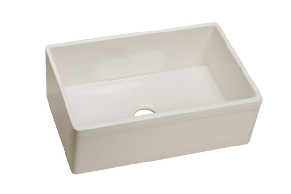 "Elkay Fine Fireclay 29-7/8"" x 19-3/4"" x 10-1/16"", Single Bowl Apron Front Sink"