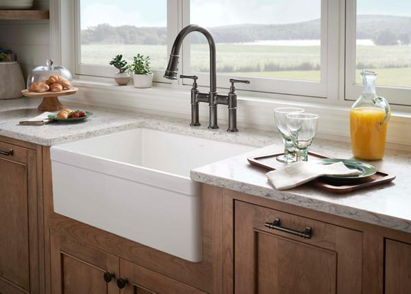 Fireclay Kitchen Sinks | Elkay