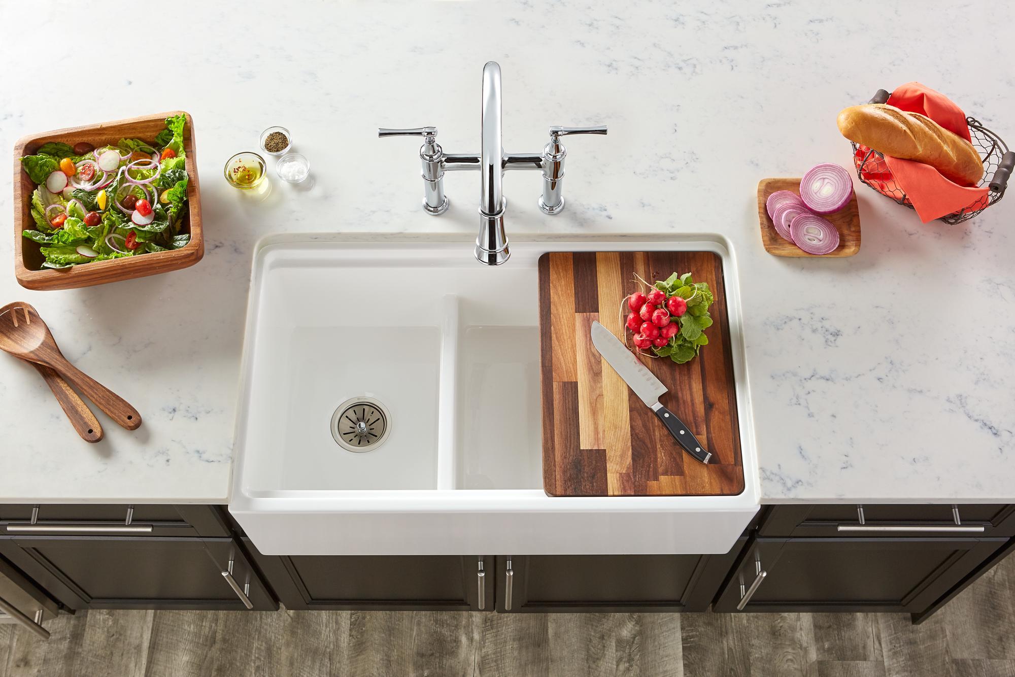 fireclay kitchen sinks | elkay