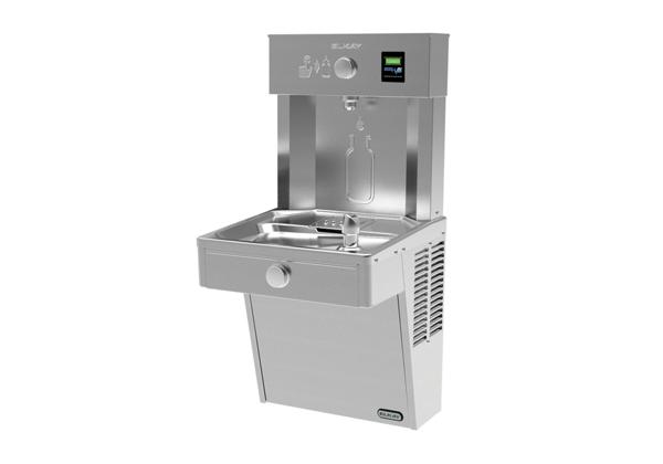 Image for Elkay EZH2O Vandal-Resistant Bottle Filling Station & Single Cooler, Non-Filtered 8 GPH Stainless from Elkay Latin America
