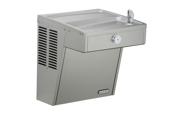 Elkay Cooler Wall Mount ADA Frost Resistant Vandal-Resistant, Non-Filtered Non-Refrigerated Stainless