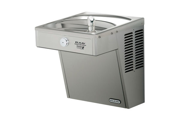 Elkay Cooler Wall Mount GreenSpec ADA Vandal-Resistant Filtered, 8 GPH Stainless