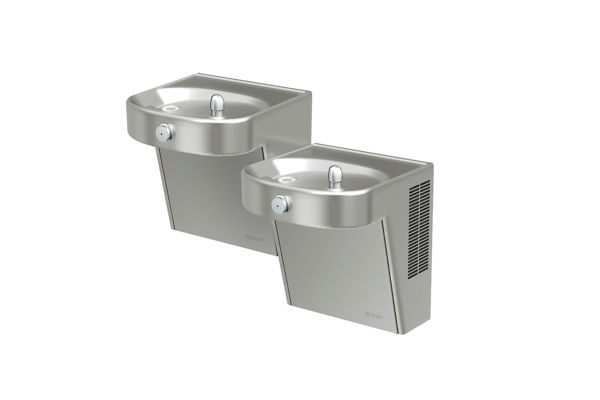 Elkay Cooler Bi-Level Wall Mount ADA Filtered 8 GPH Stainless