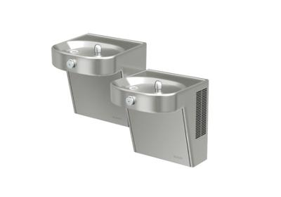 Image for Elkay Cooler Wall Mount Bi-Level ADA Non-Filtered, 8 GPH Stainless from ELKAY