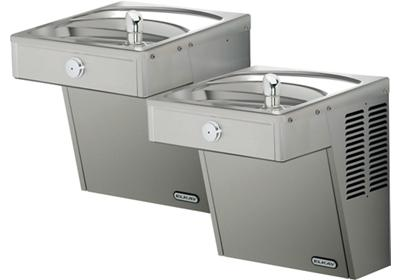 Image for Elkay Cooler Wall Mount Bi-Level ADA Vandal-Resistant, Non-Filtered Non-Refrigerated Stainless from ELKAY