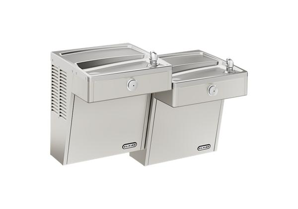 Image for Elkay Cooler Wall Mount Bi-Level ADA Vandal-Resistant, Non-Filtered 8 GPH Stainless from Elkay Latin America