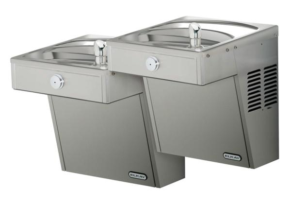 Image for Elkay Cooler Wall Mount Bi-Level Reverse ADA Vandal-Resistant, Non-Filtered 8 GPH Stainless from Elkay Latin America