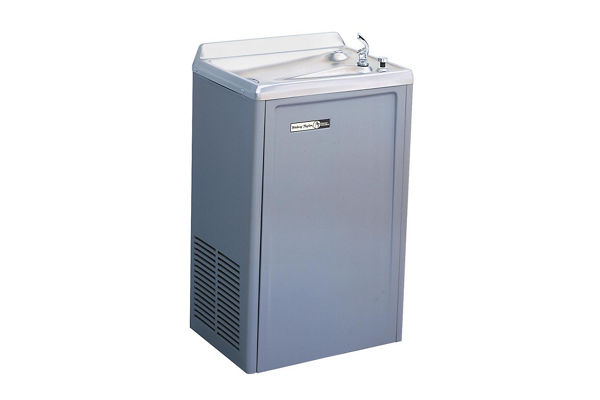 Halsey Taylor Cooler, Wall Mount, Non-Filtered, 14 GPH, Stainless