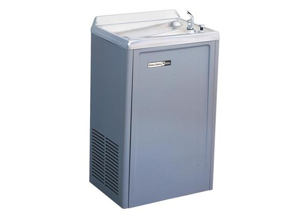 Image for Halsey Taylor Wall Mount Cooler, Filtered 8 GPH Platinum Vinyl from Halsey Taylor